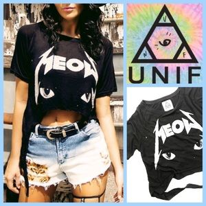 UNIF MEOW T-SHIRT